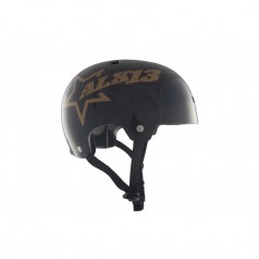 ALK13 Casque Krypton Glossy Noir Gold
